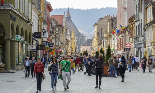 Brasov. Where some of the happiest Romanians live